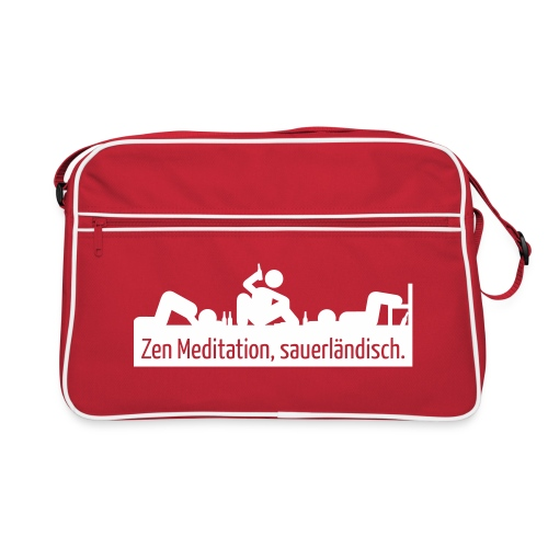 Meditation - Retro Tasche