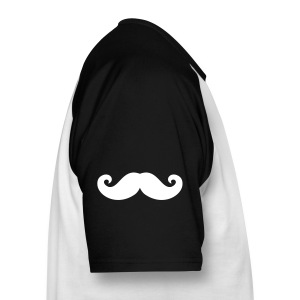 Men Penguin Party shirt! - Mannen baseballshirt korte mouw