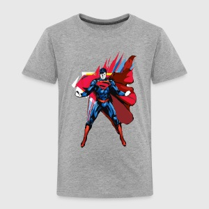 Superman Power Pose Kinder T-Shirt - Kinderen Premium T-shirt
