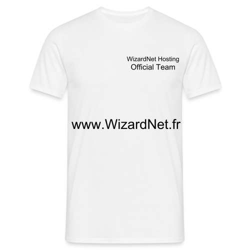 WizardNet Team - T-shirt Homme