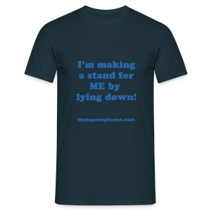Men's Slogan B T-Shirt - Men's T-Shirt