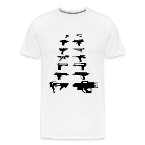 Xubor's LEGO GUNS - Men's Premium T-Shirt