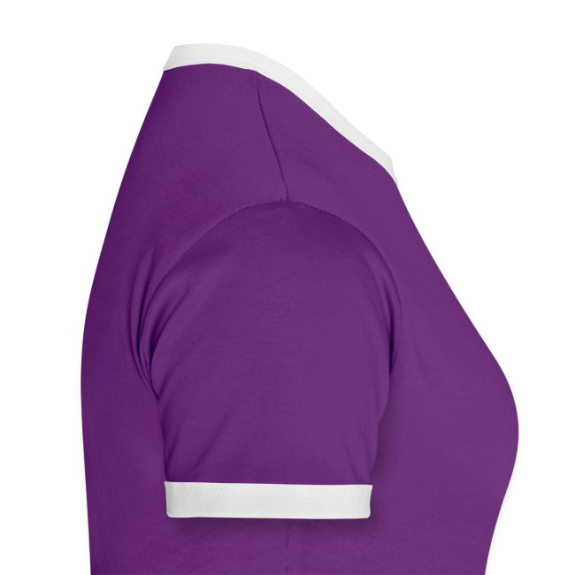 Women's Ringer Slogan W T-Shirt