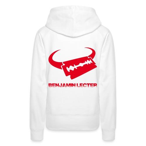 Logo und Schriftzug back - Frauen Premium Hoodie