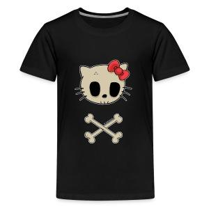 T-shirt ado Goodbye Kitty - T-shirt Premium Ado