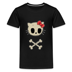 T-shirt ado Goodbye Kitty - T-shirt Premium Ado
