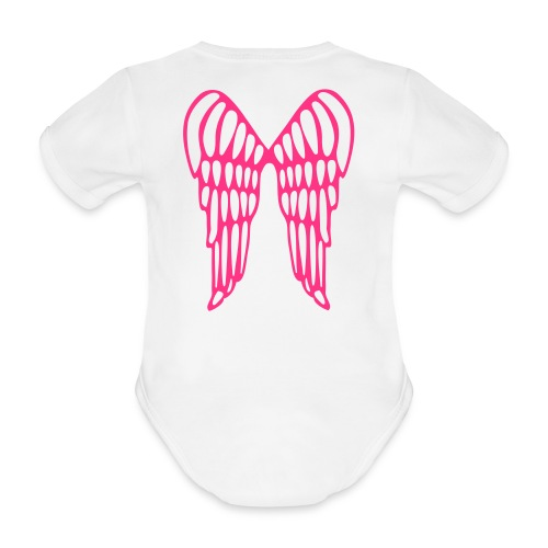 Baby Angel - Organic Short-sleeved Baby Bodysuit