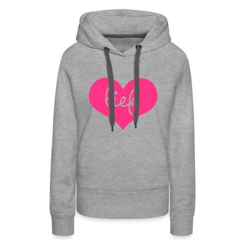 Sweater - Vrouwen Premium hoodie