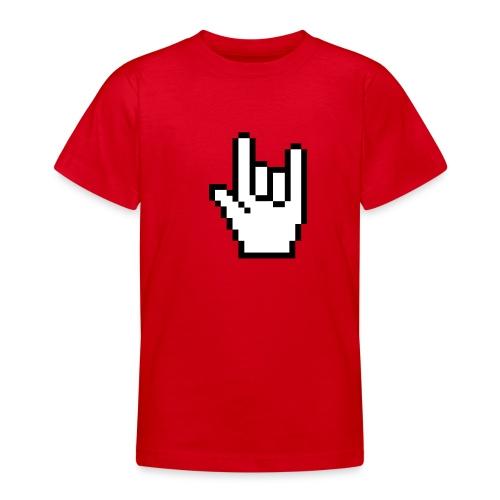 Rock Pointer Kid's Classic T-Shirt - Teenage T-Shirt