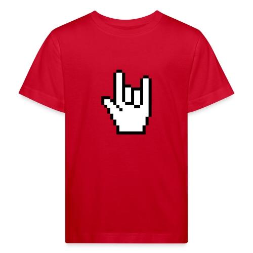 Rock Pointer Kid's T-Shirt - Kids' Organic T-Shirt