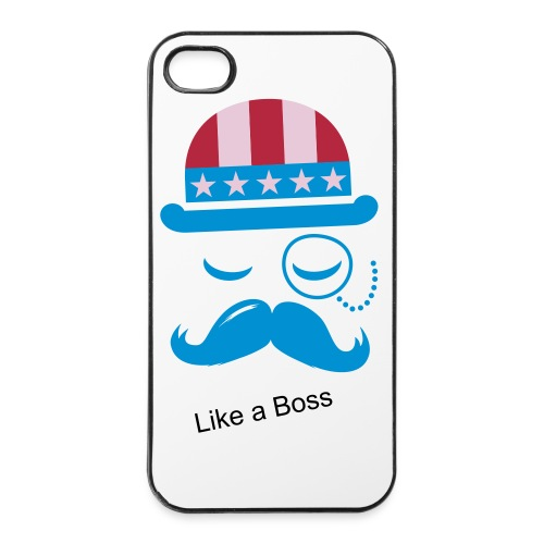 iPhone 4/4S hard care- Like a Boss - iPhone 4/4s hard case