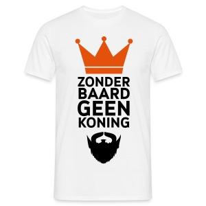 Koning baard - Mannen T-shirt