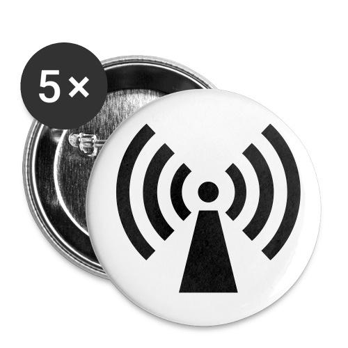 chapa mediana 32 mm - Paquete de 5 chapas medianas (32 mm)