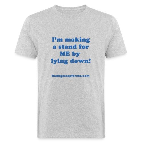 Men's Organic Slogan B T-Shirt - Men's Organic T-Shirt