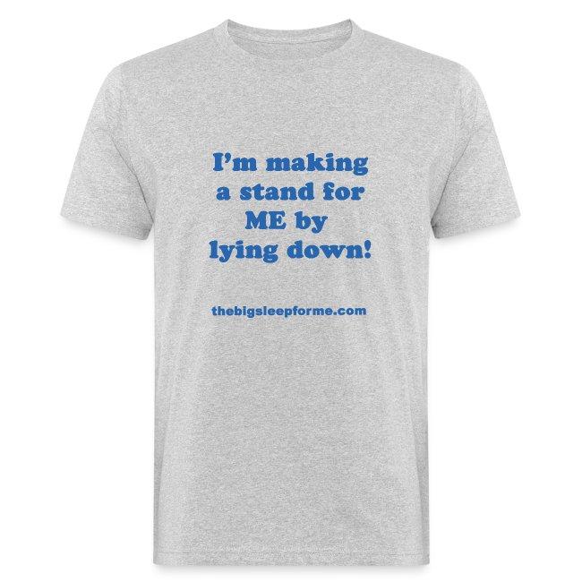 Men's Organic Slogan B T-Shirt