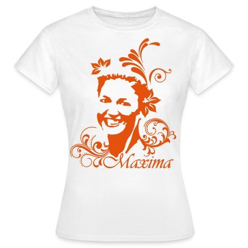 Wit -Oranje Maxima Shirt - Women's T-Shirt