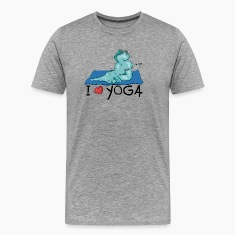 The elephant loves the shoulder stand in yoga T-Shirts