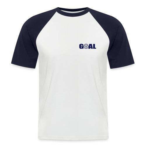 T-SHIRT FOOTBALL GOAL - T-shirt baseball manches courtes Homme