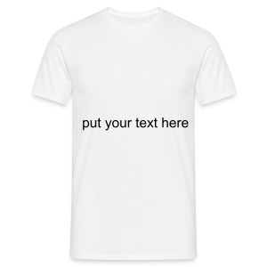 Design you own mens top - Men's T-Shirt