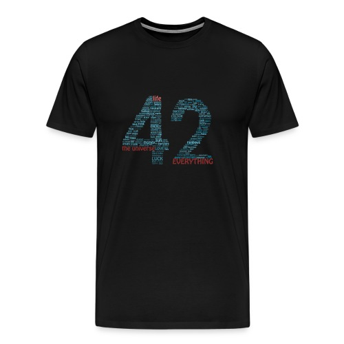 The Meaning of Life (42) Men's T-Shirt - Men's Premium T-Shirt