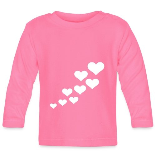 Happy love day - Langærmet babyshirt