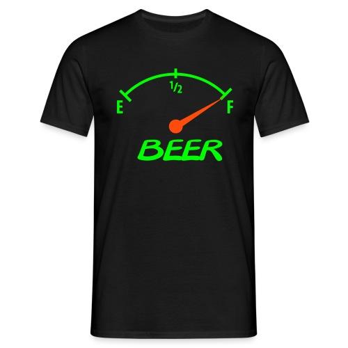 Sort herre t-shirt,party - T-skjorte for menn