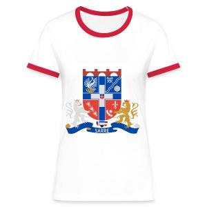 Frauen RODENA HERALDIK - Frauen Kontrast-T-Shirt