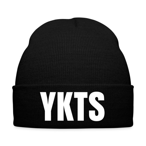 YKTS - Black Beanie - Winter Hat