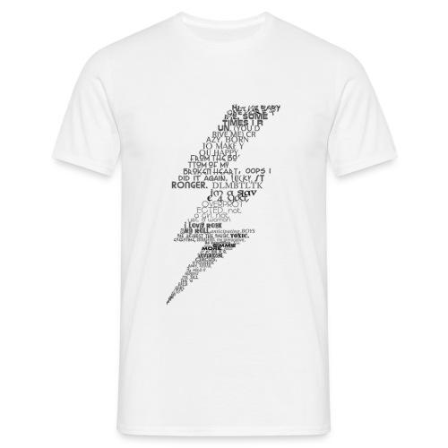 Britney singles - Men's T-Shirt