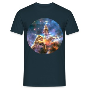Space - Mystic Mountain (Carina Nebula) - Men's T-Shirt