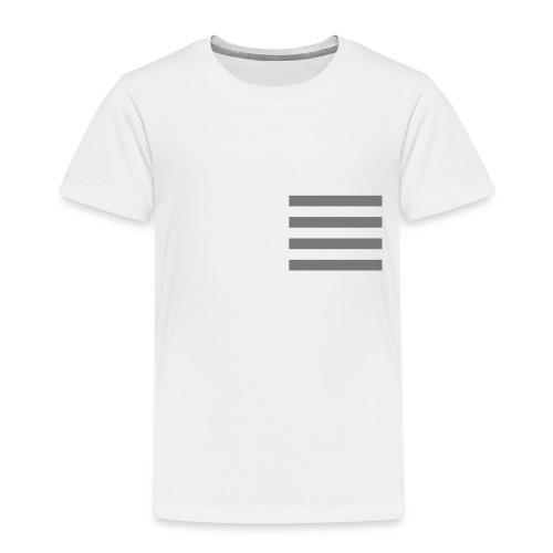 Baby Stripes - Premium-T-shirt barn