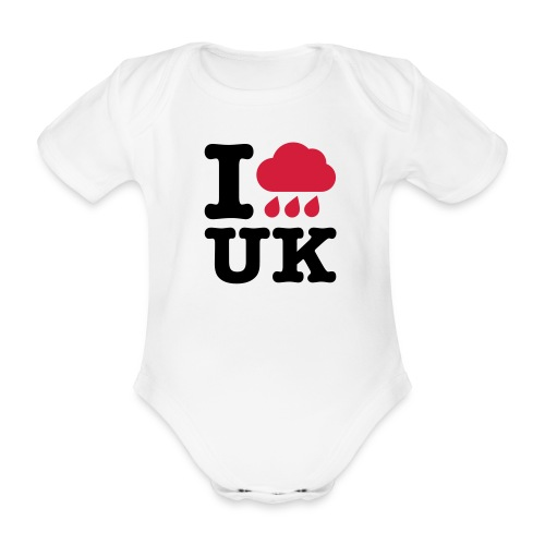 I @#$% Baby One-piece - Organic Short-sleeved Baby Bodysuit
