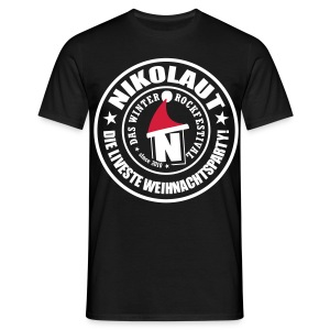 NIKOLAUT stamp straight man - Männer T-Shirt