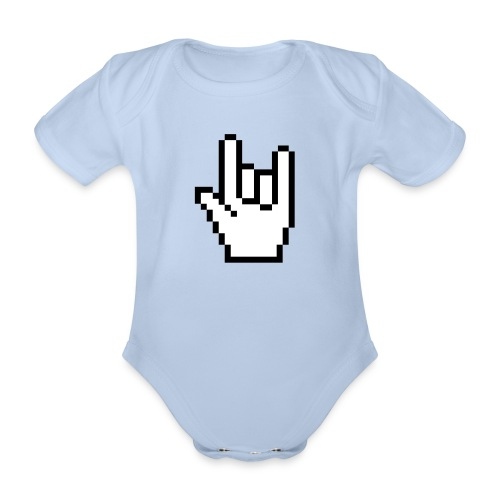 Rock pointer Baby One-piece - Organic Short-sleeved Baby Bodysuit