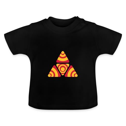 Zebra Triangle - Baby T-Shirt