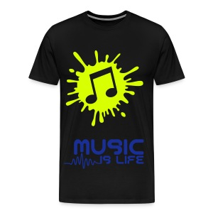 Music Is My Life-Shirt - Männer Premium T-Shirt