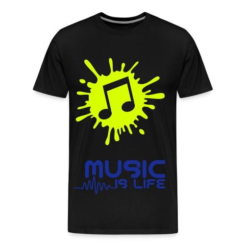 Music Is My Life-Shirt - Männer Premium T-Shirt