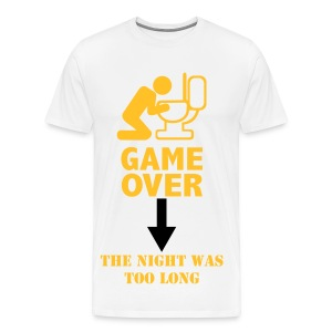Game Over-Shirt - Männer Premium T-Shirt