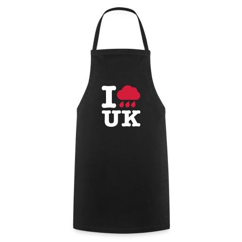 I @#$% UK BBQ Apron Black - Cooking Apron