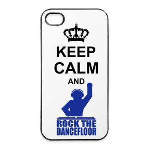 Keep Calm and Rock - iPhone 4/4s Hard Case