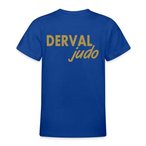 Tee-shirt ado Derval judo logo or - T-shirt Ado