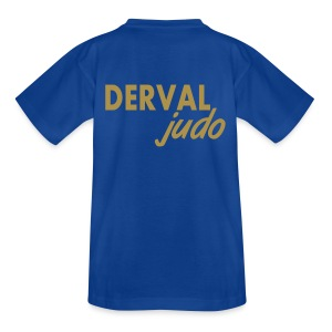 Tee-shirt enfant Derval judo logo or - T-shirt Enfant