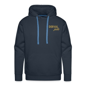 Sweat homme Derval judo logo or - Sweat-shirt à capuche Premium pour hommes