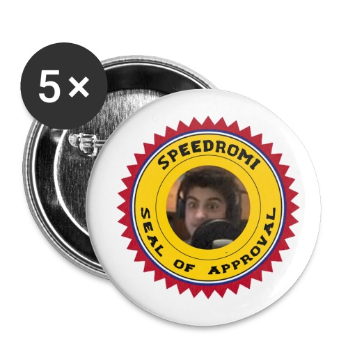 Badge seal of approval - Badge petit 25 mm