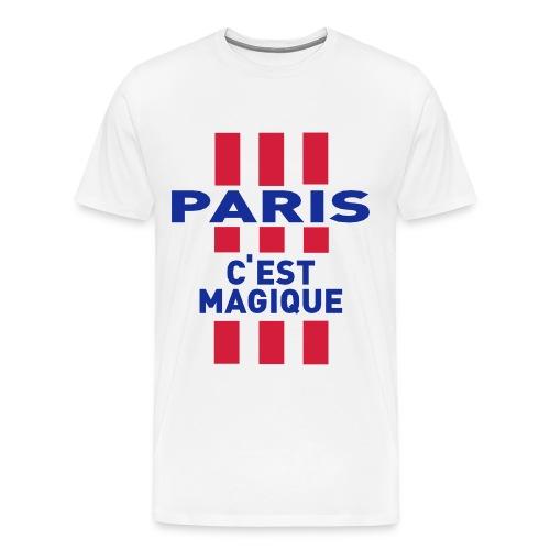 paris c'est magique  - T-shirt Premium Homme