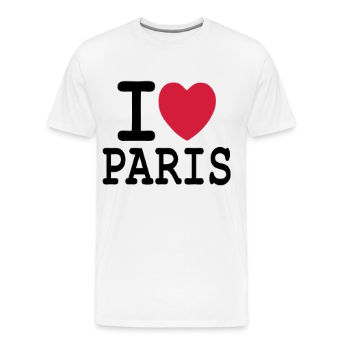 I love paris - T-shirt Premium Homme