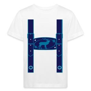 Lederhose Kindershirt - Kinder Bio-T-Shirt