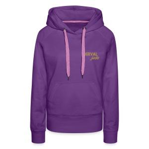 Sweat femme Derval judo logo or - Sweat-shirt à capuche Premium pour femmes