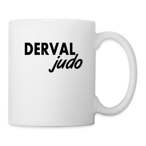 Tasse Derval judo - Mug blanc
