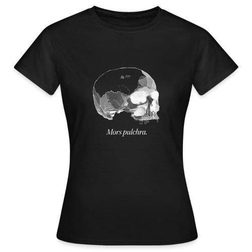 Mors pulchra II (white) - Women's T-Shirt